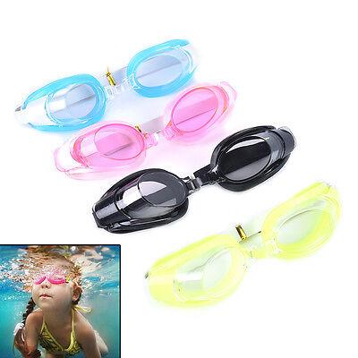 Kids Swimming Goggles Pool Beach Sea Swim Glasses Children Ear Plug Nose Clip GY