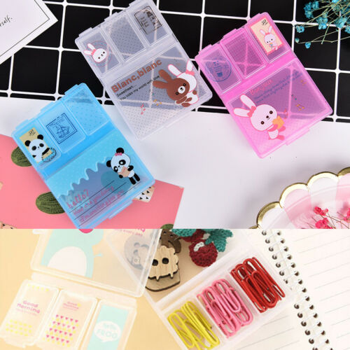 Tablet Medicine Cute Pill Box Storage Organizer Container He