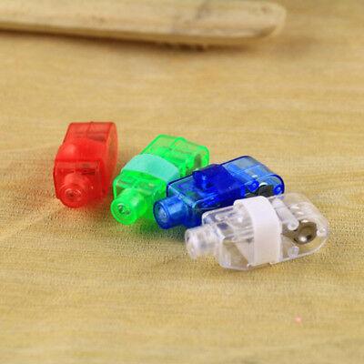 LED Light Up Flashing Finger Rings Glow Party Favors Kids Children Toys FT