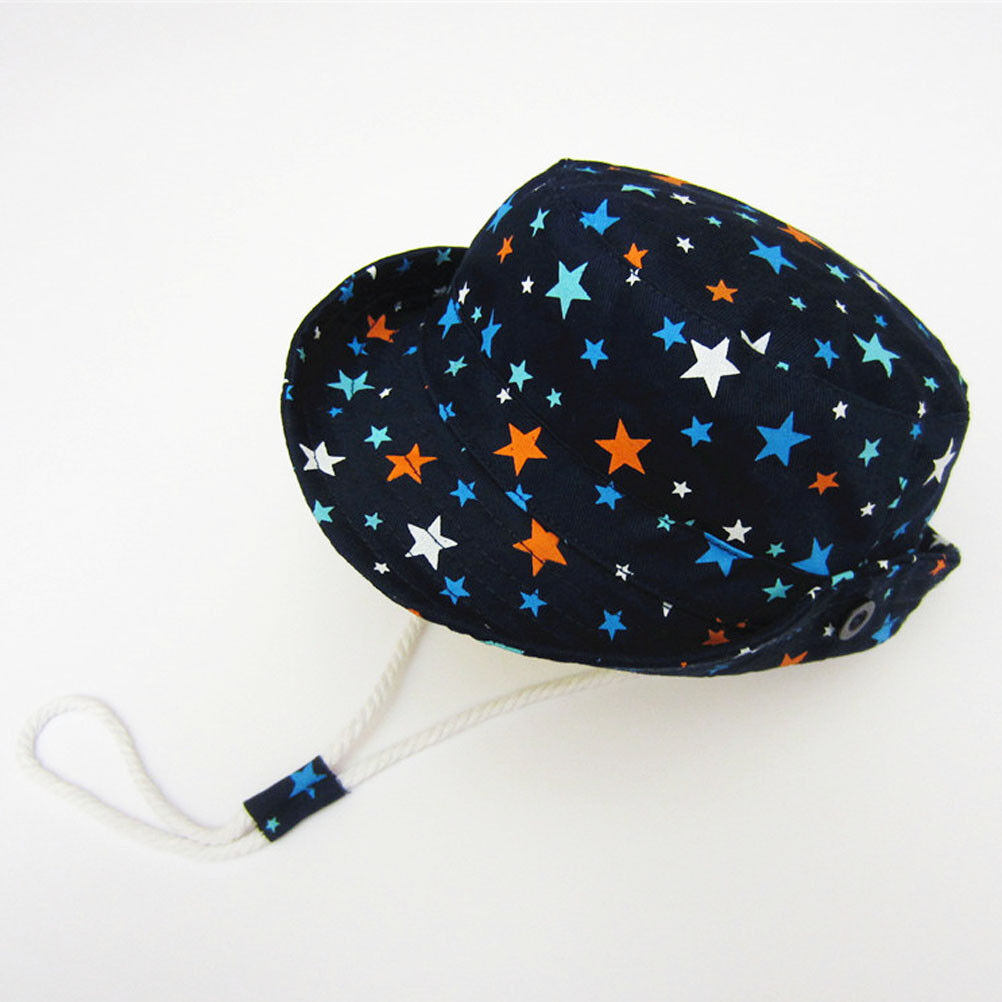 37a6e4663e9933 Kids Boys Sun Hat Baby Toddler Beach Bucket Hat UV Fisherman Cap For 0-8  Years