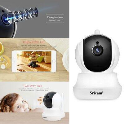 HD 720P WiFi IP Cámara CCTV Video Vigilancia ONVIF IR Nocturna Seguridad