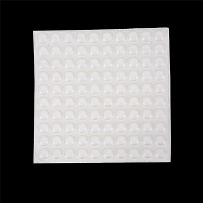 100PCS Door Self Adhesive Rubber Door Buffer Pad Feet Semicircle BumpersNg