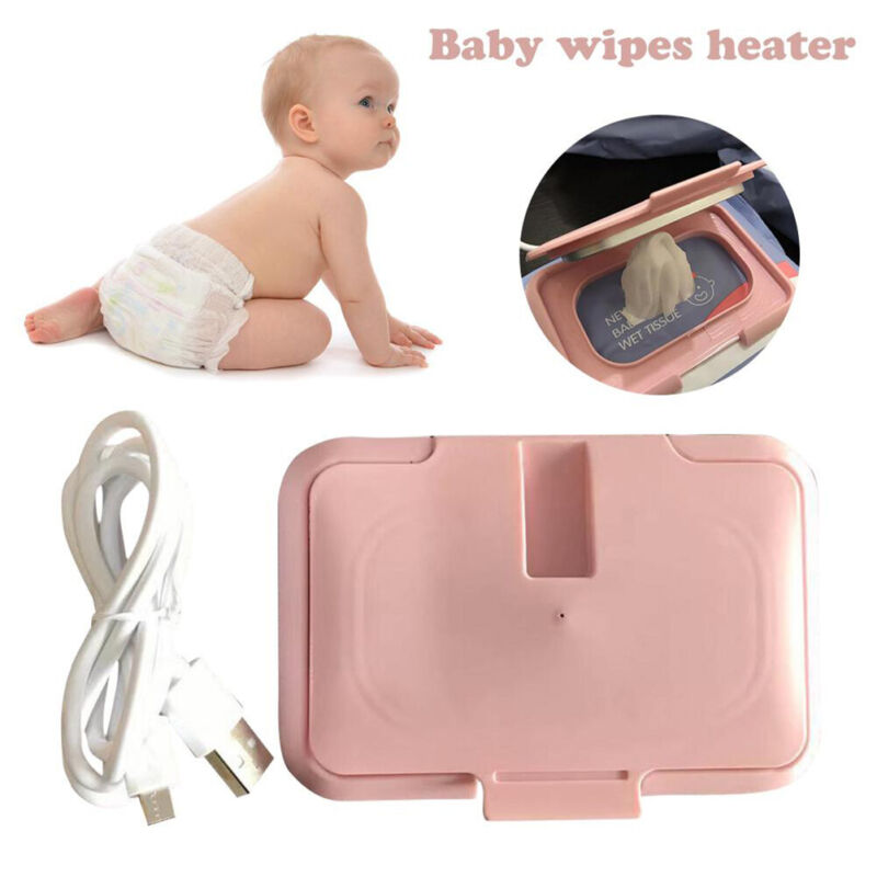 Baby Wipes Heater Baby Wet Wipes Warmer Portable USB Powered Wipes Heater*1PCS