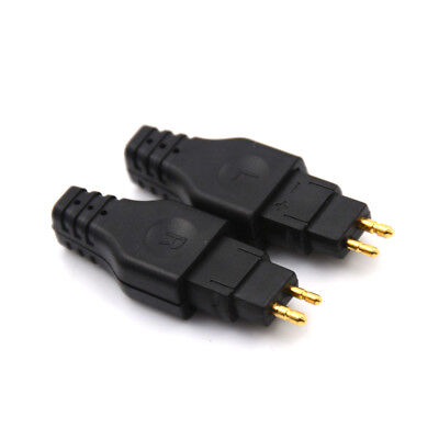 1Pair HD650 HD600 HD565 HD580 Black Mini Plug Gold Plated Plug Connector PL.J