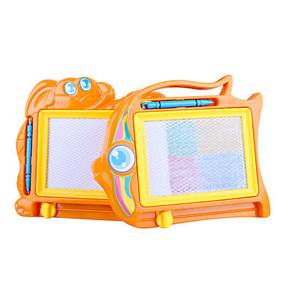 Magnetic Drawing Board Sketch Pad Doodle Writing Craft Art for Children Kids QY