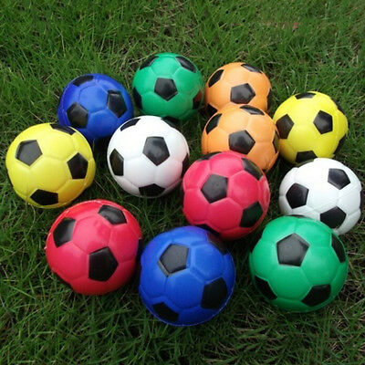 Football Ball Exercise Stress Relief Squeeze Elastic Soft Foam Ball LEZX