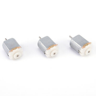 3pcs Miniature Dc Motor Diy Toy 130 Small Electric Motor 3v To 6v Low Voltagnihh