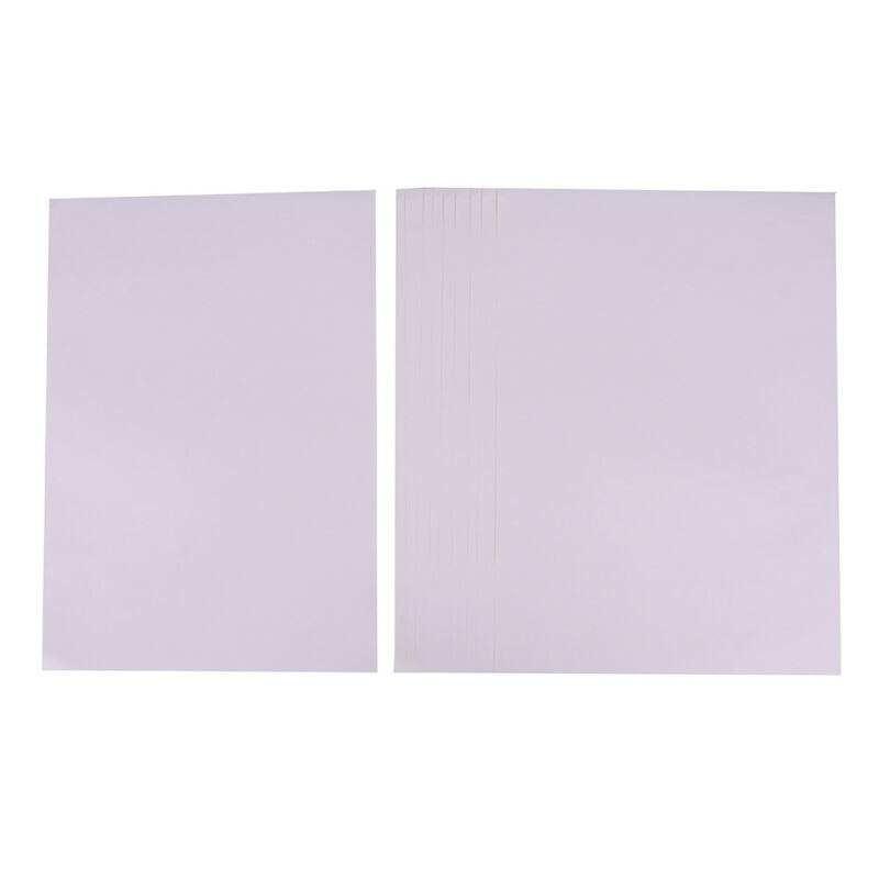 10sheets A4 Matt Printable White Self Adhesive Sticker Paper Iink For OfficeVE - $7.16