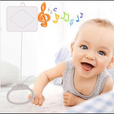 Pull String Cord Music Box Baby Bed Bell Kids Toy Play Soft Music HGUK