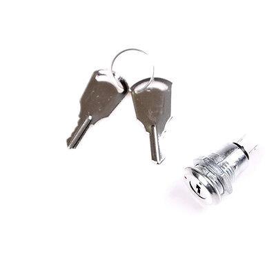 12mm Key Switch Onoff Lock Switch Ks-02 Ks02 Electronic Key Switch With Keys