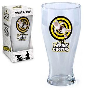 Verre à bière Lapins crétins - France - État : Neuf: Objet neuf et intact, n'ayant jamais servi, non ouvert, vendu dans son emballage d'origine (lorsqu'il y en a un). L'emballage doit tre le mme que celui de l'objet vendu en magasin, sauf si l'objet a été emballé par le fabricant d - France