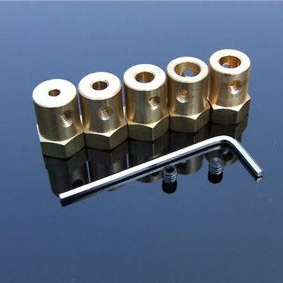 3mm//4mm//5mm//6mm//7mm//8mm Flexible Motor Shaft Coupling Coupler for DIY PartsNWUS