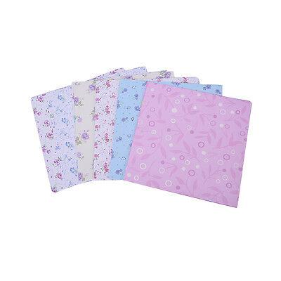 72 fogli di carta floreale pieghevole pieghevole Origami Chiyogami Craft Paper