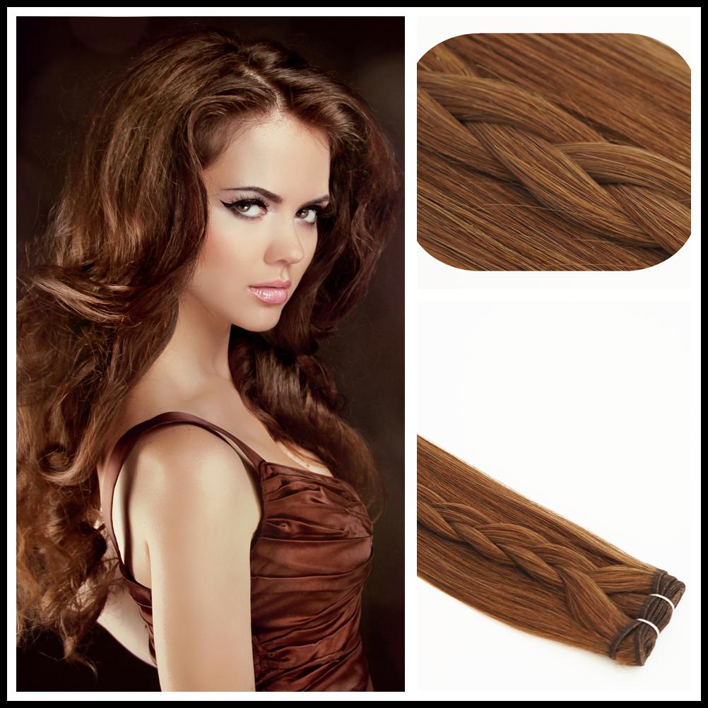Echthaar Tressen RAMO Premium REMY 100% Haarverlängerung Hair Extensions