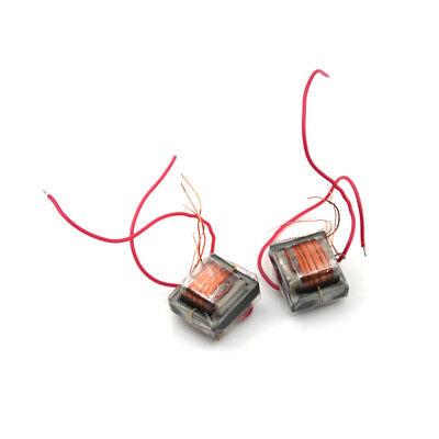 2pcs 10kv High Frequency High Voltage Transformer Booster Coil Inverter Hicgu