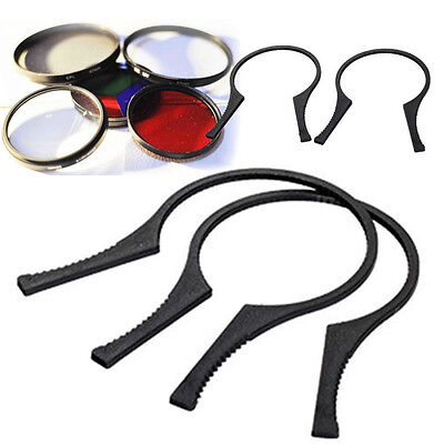 49-58 mm 2x Lens Filter Wrench Removal ToolSpanner Pliers 49mm 52mm 55mm 58mm <Z