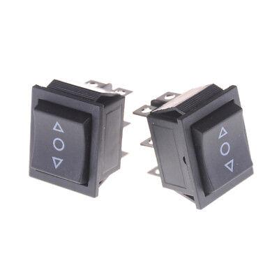 2PCS 6 Pins On-Off-On Rocker Switch Momentary Rocker Switch ZN