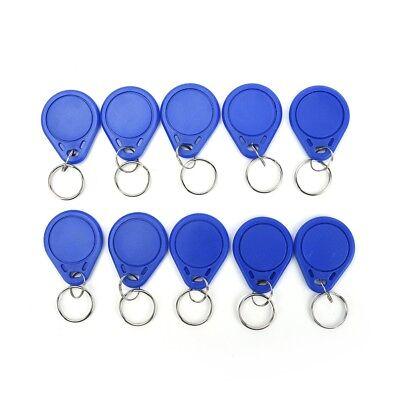 10pcs/lot 13.56MHz RFID IC Key Tags Keyfobs Token Tag Keychain Kit fashion UQ