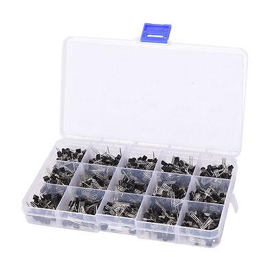 To-92 Assortment Npn Pnp Diy Kit 15 Value 600pcs Transistor