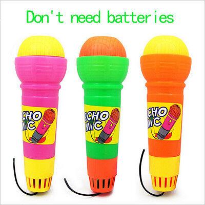 New Echo Microphone Mic Voice Changer Toy Baby Kids Birthday Present Lf