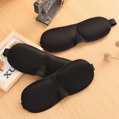 Travel 3D Sleeping Blindfold Eye Mask Sleep Soft Padded Shade Cover Rest Relax . - $4.05