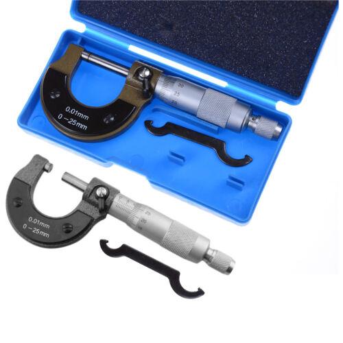 0 25mm 0 01mm gauge outside metric