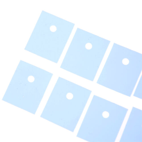 50 Pcs TO-3P Transistor Silicone Insulator Insulation Sheet Popular RS