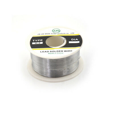 100g 0.8mm 6040 Tin Lead Solder Wire Rosin Core Soldering 2 Flux Reel Tube Fu