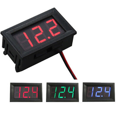 Auto Car Mini Voltmeter Tester Digital Voltage Test Battery Dc 0-30v Bh