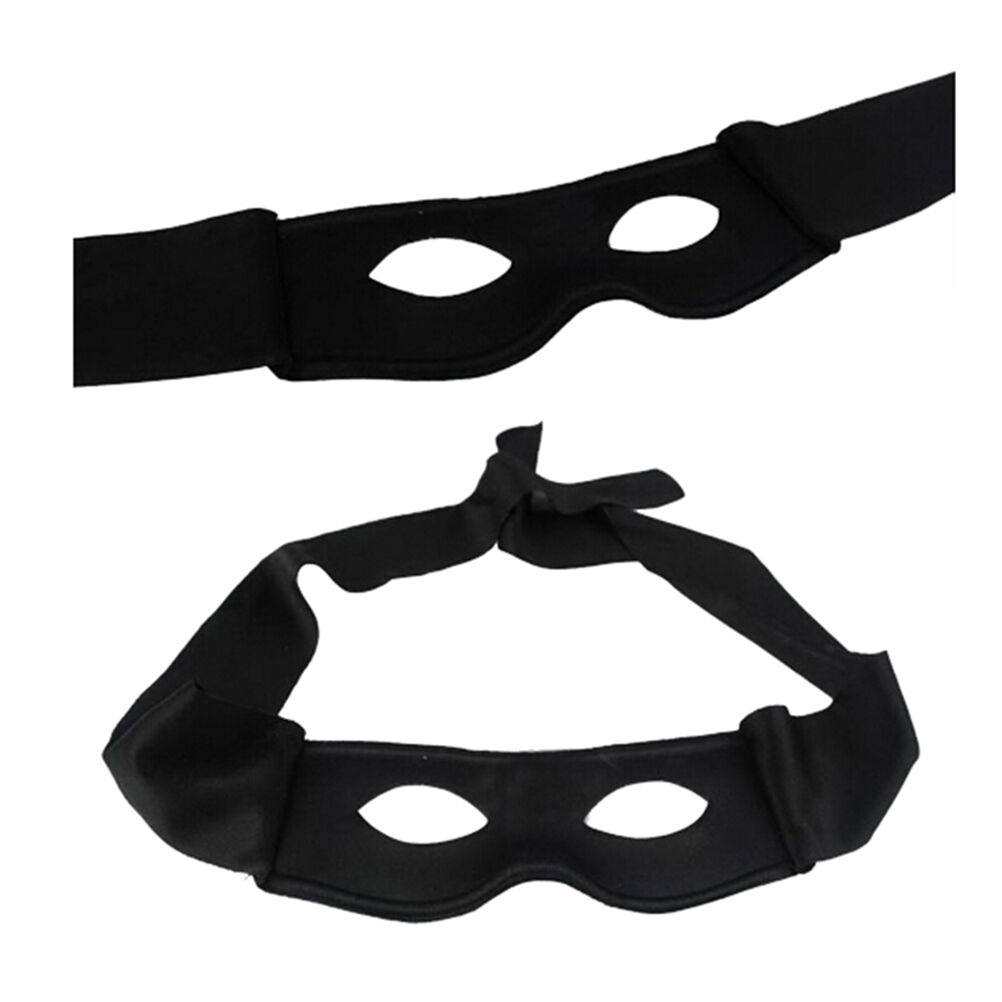 Zorro Mask Costume 27