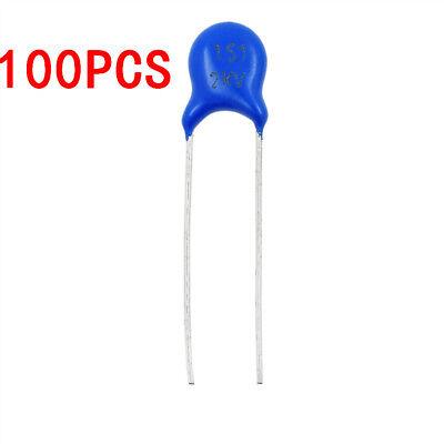 100pcs High Voltage Ceramic Disc Capacitor 150pf 2000v