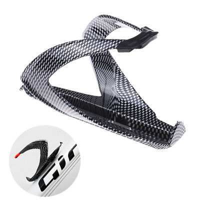 Carbon Fiber Road  Bicycle Bike Cycling Water Bottle Drinks Holder Rack Cage F7](Water Bottle Holder)