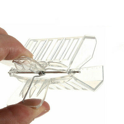 5pcs Plastic Queen Cage Clip Bee Catcher Beekeeper Beekeeping Tool Equipmenodfhv