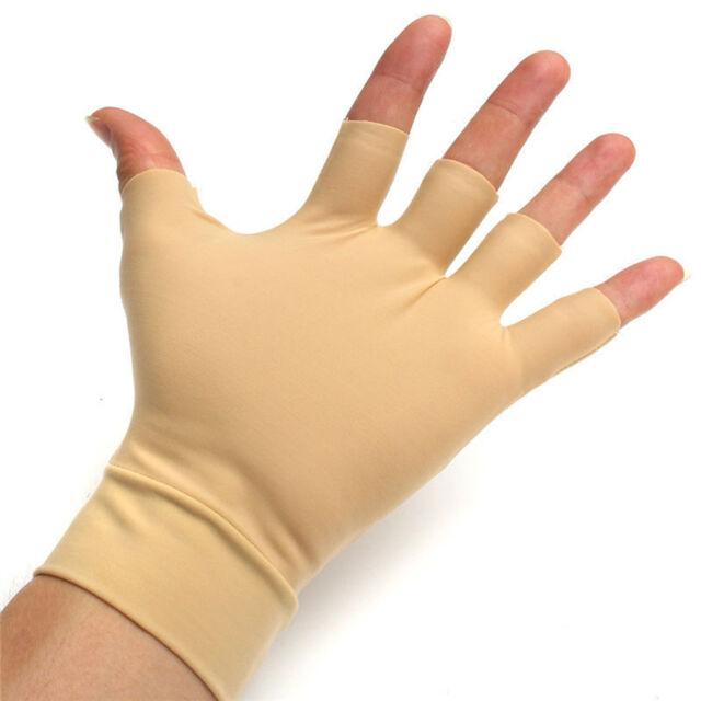 1 Pair Arthritis Relief Gloves Washable Nylon Spandex Anti Hand Compression Best