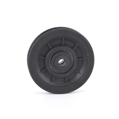 10*95mm black bearing pulley wheel cable gym equipment part wearproof OF for sale  Canada