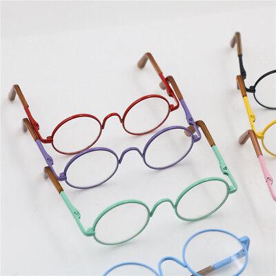 Runde Rahmen-Klarglasbrille für 12-Zoll-Blythe Doll fu