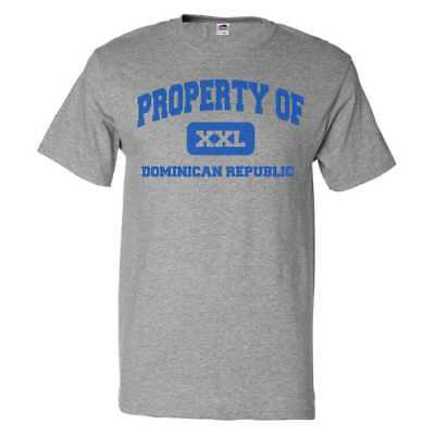 Property Of Dominican Republic T Shirt Funny Tee