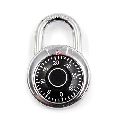3-Wahl-Kombination Passwort Vorhängeschloss für Schlafsaal Türschloss Code LocXJ