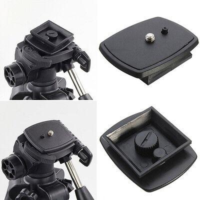 Tripod Quick Release Plate Screw Adapter Mount Head For DSLR SLR Camera Ye