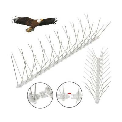 Defender PC Plastic Bird Spikes & Pigeon Spikes 2.5M 2 Pcs Scare Birds