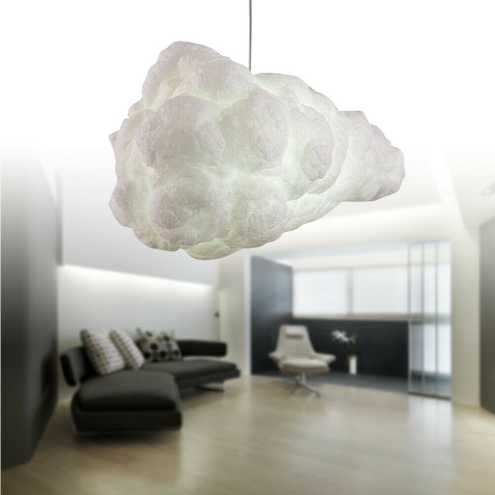 Wohnzimmer Pendelleuchte Hänge-Leuchte Decken-Lampe Küche Esszimmer Wolke Form