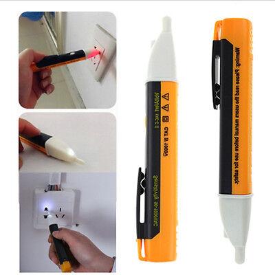 AC 90~1000V Non-Contact LED Electric Alert Voltage Detector Sensor Tester NJ