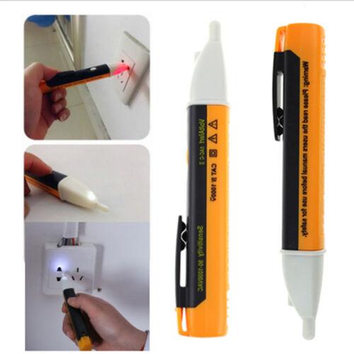 AC 90~1000V Non-Contact LED Electric Alert Voltage Detector Sensor Tester Pen IJ