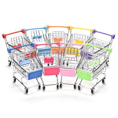 Mini Einkaufswagen Supermarkt Schubkarre Kinder Spielzeug Shopping cart Toys Box