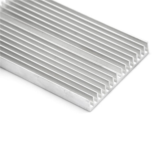 100x60x10mm Aluminum Heatsink For High Power TEC, LED, Amplifier, Transistor US