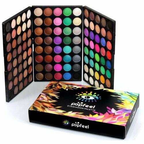 Popfeel 120 Matte Colors Eyeshadow Eye Shadow Palette Makeup