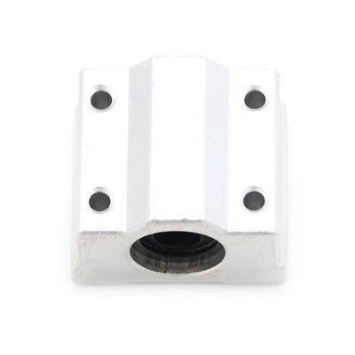Sc8uu Linear Bearing Slide Block Bracket - 8mm Shaft - 3d Printer Cnc Reprap Hi