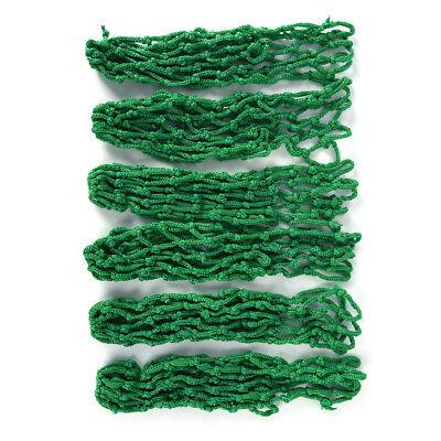 6x/Lot green billiard pool snooker table cotton mesh net bags pockets clu WS
