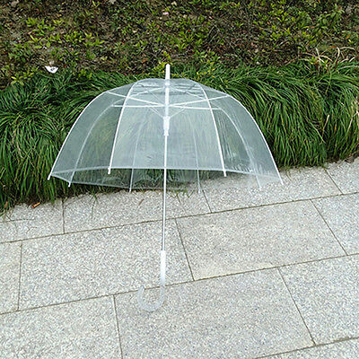 1x Willow Tree Birdcage Clear Translucent Dome Umbrella Wedding NJ