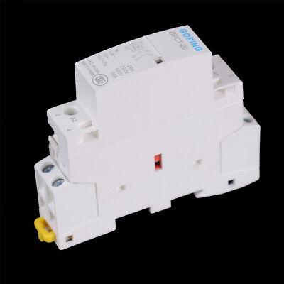 2P 20A 220V/230V 50/60HZ Din rail Household ac contactor DSUK
